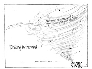 Winter, Mark 1958- :Dissing in the wind - National Government & Maori Pary Support Agreement. 13 July 2012