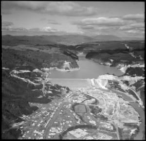 Aerial view of Matahina Hydro