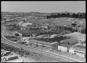 Johnston Cardboard Box Company factory, Penrose, Auckland