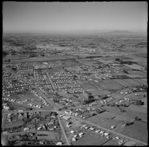 Aerial view of Frankton, Hamilton, New Zealand