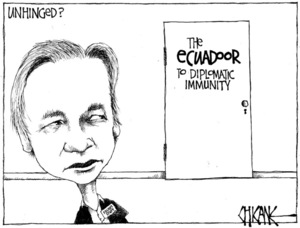 Winter, Mark 1958- :Unhinged? The Equadoor to diplomatic immunity. 17 August 2012