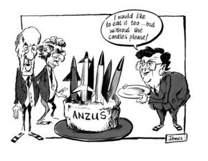 Lynch, James Robert, 1947- :'ANZUS'. 1 October 1984