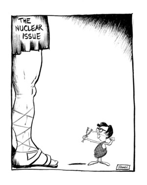 Lynch, James Robert, 1947- :'The nuclear issue' 11 February 1985