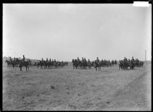 New Zealand mounted troops during World War I