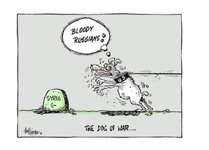 Hubbard, James, 1949- :The Dog of War. 13 September 2013