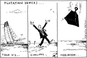 Walker, Malcolm, 1950- :Flotation devices. 17 September 2013
