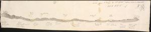 Haast, Johann Franz Julius von, 1822-1887: Section from Mt Torlesse to Mt White. SSW to NNE. No 12. [1860-1866].