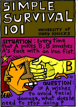 Doyle, Martin, 1956- :Simple survival 101. 22 August 2014