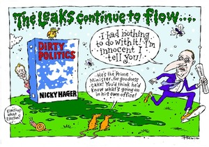 Hodgson, Trace, 1958- :The leaks continue to flow. 25 August 2014