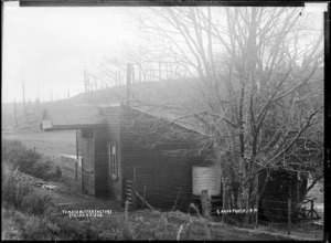 Te Mata Butter Factory, near Raglan, 1910 - Photograph taken by Gilmour Brothers