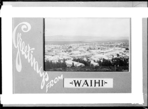 General view over Waihi, ca 1910