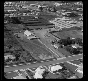 [Earlo?] Tractor Company Limited (Frost Road) and Keith Hay Limited, Mount Roskill, Auckland