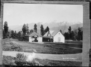 Bath houses at Hanmer Springs