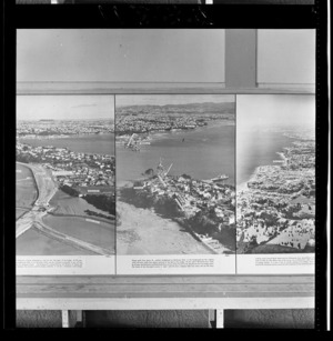 Northcote approach, Auckland Harbour Bridge, photograph used in the Changing Auckland Exhibition