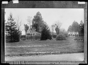 The Domain, Ashburton - Photograph taken by A.W.H.