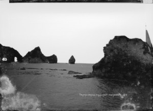 Tolaga Heads from Captain Cook's Cove