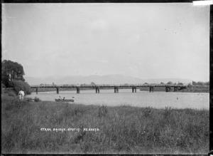 View of Otara Bridge, Opotiki