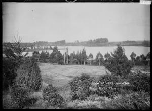 Lake Rotoroa (Hamilton Lake), Hamilton, circa 1910s