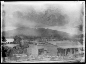 Mount Karioi from Raglan, 1911 - Photograph taken by Gilmour Brothers