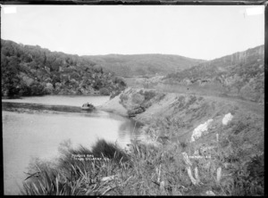 Mangate Road, Te Akau, near Raglan, 1910 - Photograph taken by Gilmour Brothers