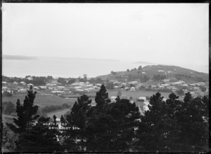 View looking from Mount Victoria, Devonport towards North Head