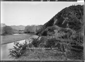 Waiaua River and bridge, Bay of Plenty
