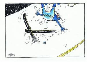 Telecom customers - Winter Olympics