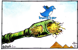 [Twitter and the Egyptian revolution] 13 February 2011