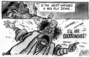 Evans, Malcolm Paul, 1945-:[Libya and the no fly zone] 11 March 2011