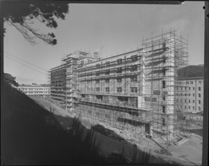 Construction of Hospital Nurses' Home, Wellington