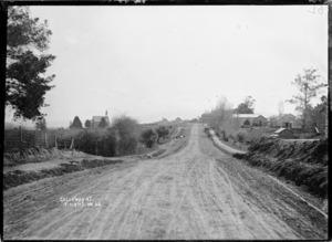 Arapuni Road, Kihikihi, circa 1912