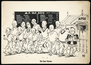 Colvin, Neville Maurice, 1918-1991:The first eleven. [November 1954]