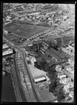 Victoria Park Flyover, Auckland City