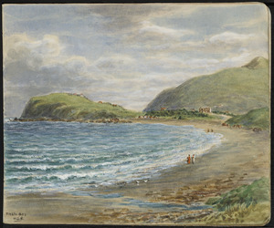 Baker, William George, 1864-1929 :Titahi Bay [1920-1925]