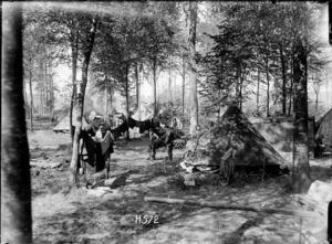A New Zealand Field Ambulance corps stationed near Bus-les-Artois, World War I