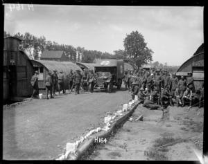 General view of the New Zealand Field Ambulance, World War I
