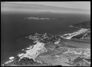 Tairua, showing Paku and Slipper Island