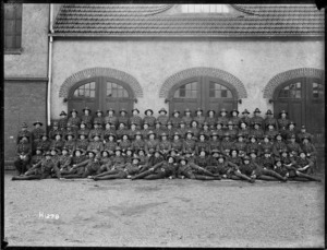 Part of the Canterbury Company that furnished guards in Germany following World War I