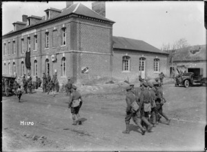 A New Zealand Field Ambulance at Louvencourt, France, World War I