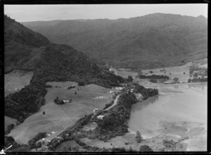 Aerial view of Huia