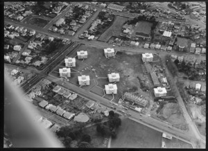 Freemans Bay, Auckland, with Auckland City Council flats