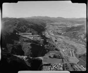 View of the upper Hutt Valley looking north east