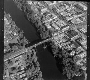 Hamilton, including the Waikato River