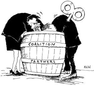 'Coalition partners.' 9 November, 2008.