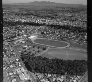 Claudelands, Hamilton, featuring showgrounds