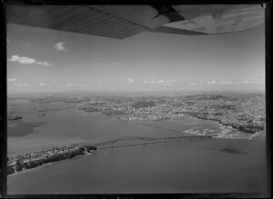 Auckland Harbour Bridge and Westhaven