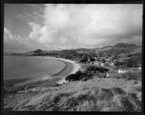 Omapere beach, Northland