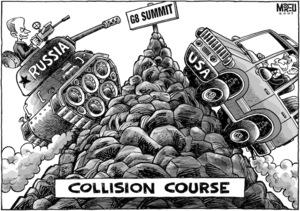 G8 Summit. Collision Course. 6 June, 2007