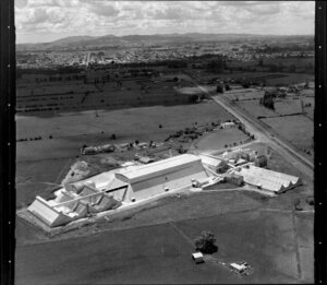 Fertiliser factory, Kiwitahi, near Morrinsville, Waikato region