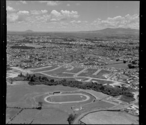New subdivision and race track, Hamilton